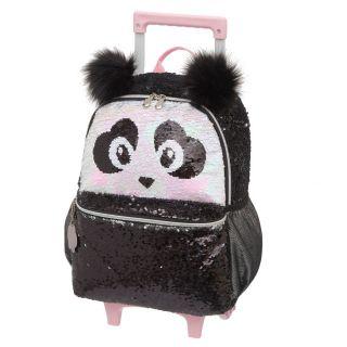 Mochila Carrinho G Pack Me Panda Preto Pacific