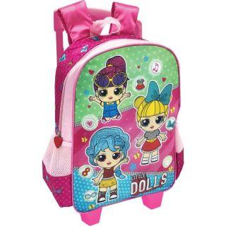 Mochila Carrinho Little Dolls 18-400SL Kit