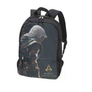 Mochila Costa Assassin S Creed Origins Preto Pacific