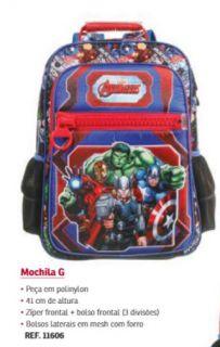 Mochila Costa G Avengers 11606 Dmw