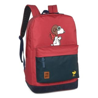 Mochila Costa Snoopy 45882 Vermelho Luxcel
