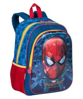 Mochila Grande Spiderman 18x Sestini
