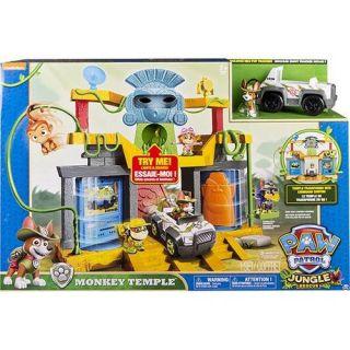 Nova Central De Comando Da Linha Selva Templo Da Macaca Sunny Brinquedos