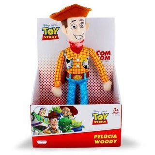 Pelucia Toy Story 30cm Woody Com Som Multikids