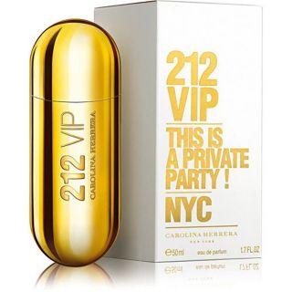 Perfume 212 Vip 50ml Feminino Carolina Herrera