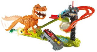 Pista Hot Wheels Pista Ataque Do T-Rex