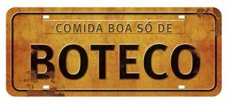 Placa Mdf 35x14,6 Comida Boa So E Buteco Litoarte