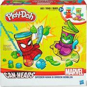 Play Doh Massa De Modelar Marvel 2 Potes Hasbro