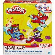 Play Doh Massa De Modelar Marvel Pote Veiculo Hasbro