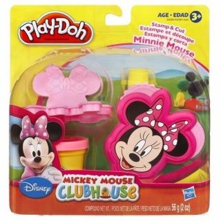 Play Doh Massa De Modelar Molde Minnie/Mickey Hasbro