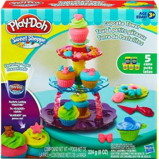 Play Doh Massa De Modelar Torre De Cupcake Hasbro