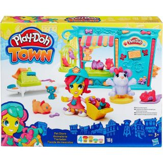 Play Doh Massa De Modelar Town Pet Shop Hasbro