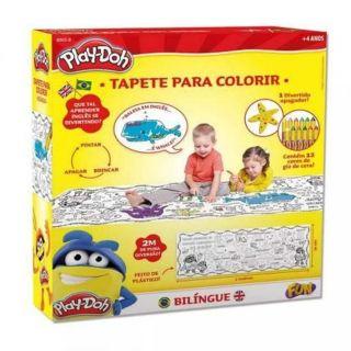 Play Doh Tapete Para Colorir Com Giz Hasbro