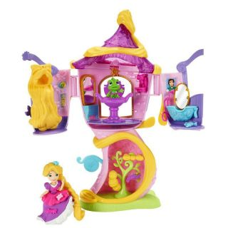Playset Princesas Disney Little Kingdom Torre Da Rapunzel Hasbro