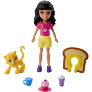 Polly - Crissy Café Dos Bichinhos Mattel