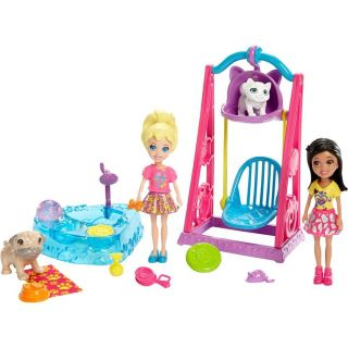 Polly Pocket Brincando Com Bichinhos Mattel