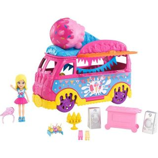 Polly Pocket Carnaval De Sorvete Mattel