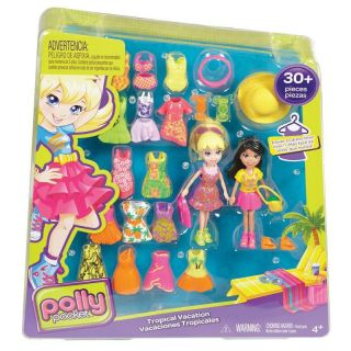 Polly Pocket Conjunto 2 Amigas 30 Peças Mattel - Sortidos