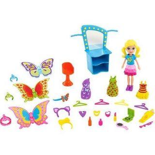 Polly Pocket Transformação Borboleta Mattel