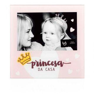 Porta Retrato 10X15cm Bebe Princesa Ludi
