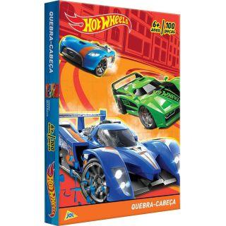 Quebra Cabeça 100 Peças Hot Wheels Toyster