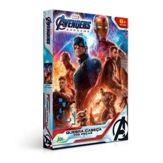 Quebra Cabeça Encapado Avengers 100 Peças Toyster
