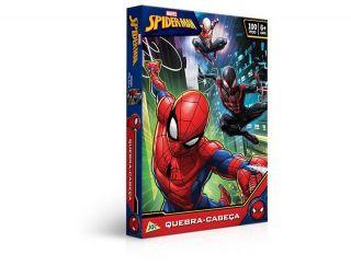 Quebra Cabeça Encapado Spider Man Toyster