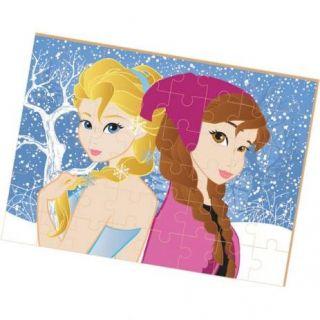 Quebra Cabeca Madeira Princesa Do Gelo Gigante 48 Pc Brincadeira De Crianca
