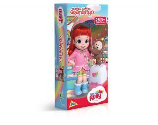 Quebra Cabeça Rainbow Ruby Grandinho 28 Peças Toyster