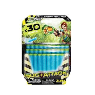 Refil 30 Dardos Bug Attack Candide