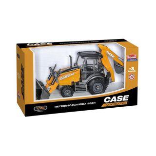 Retroescavadeira Case Construction Usual Brinquedos