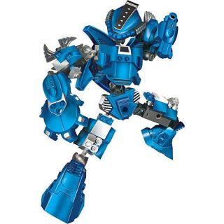 Robo Guerreiro Blue Armor 65 Peças Xalingo