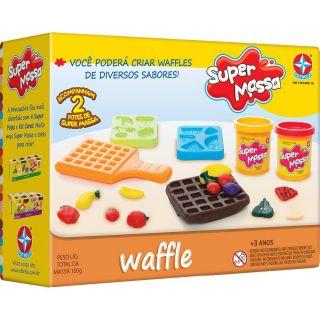 Super Massa Waffle Estrela