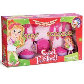 Sweet Fantasy Panelinhas Utensilios Cardoso Toys