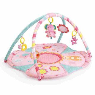 Tapete Infantil Rosa Elefante Mastela