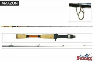 Vara De Pesca Amazon Sac-5.6m 08-17lbs Sumax