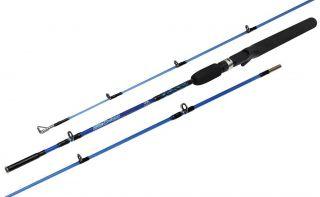 Vara De Pesca Carretilha Maciça Blue Bass 1,6m 8-15 Lbs 2 Partes Maruri