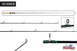 "Vara Sumax Hummer Rods 5´6"" 1,68m 17lbs 561m Carretilha"