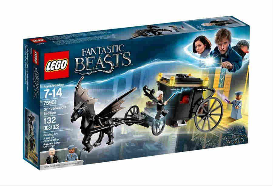 A Fuga De Grindelwald 132 Peças Lego