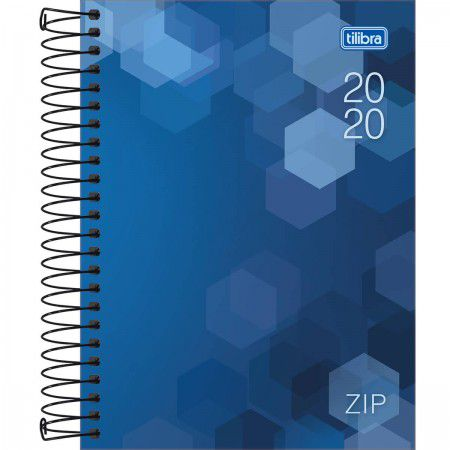 Agenda Espiral M4 Zip Tilibra