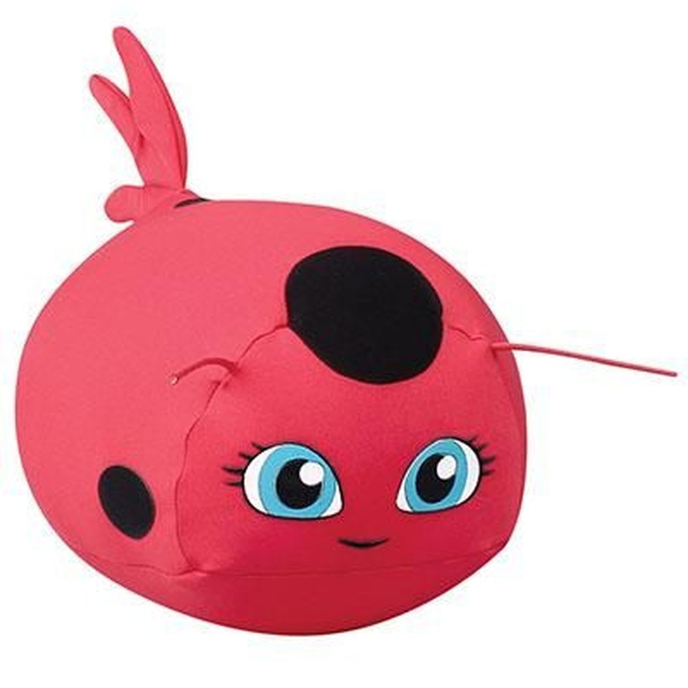 Almofada Bichinho Cute TikkiMiraculous Lady Bug Floc
