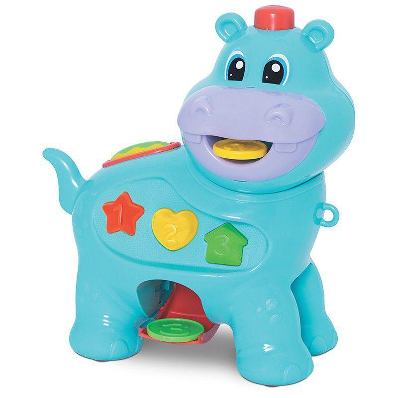 Amiguinho Comilao Hipopotamo Merco Toys
