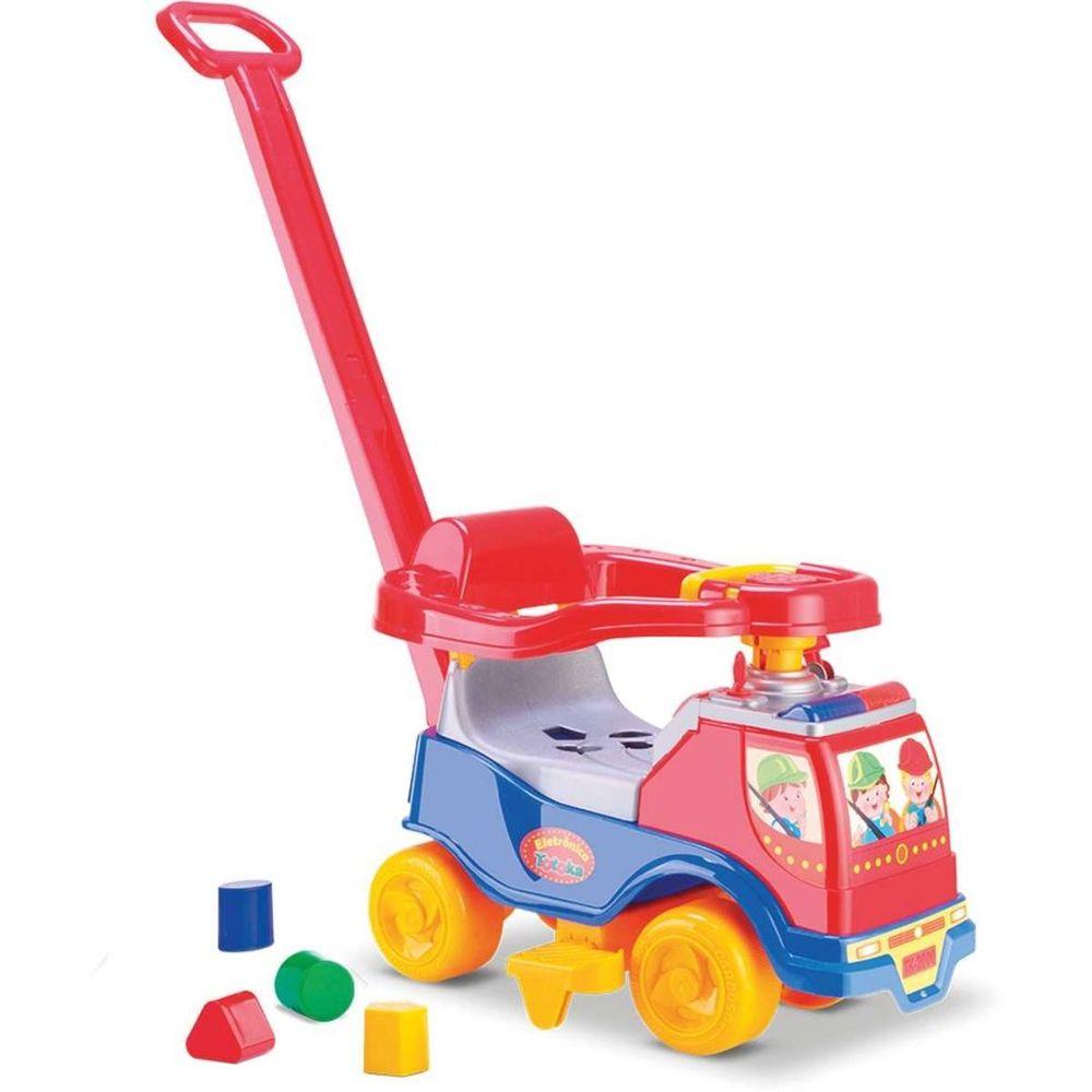 Andador Carro Totoka Plus Menino Cardoso Toys