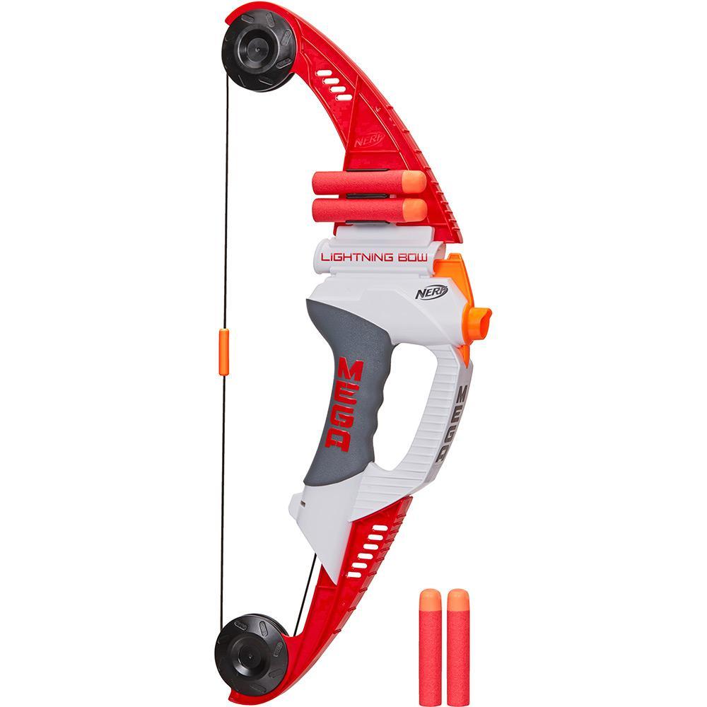 Atirador Lançador De Dardos Nerf Lightning Bow Hasbro