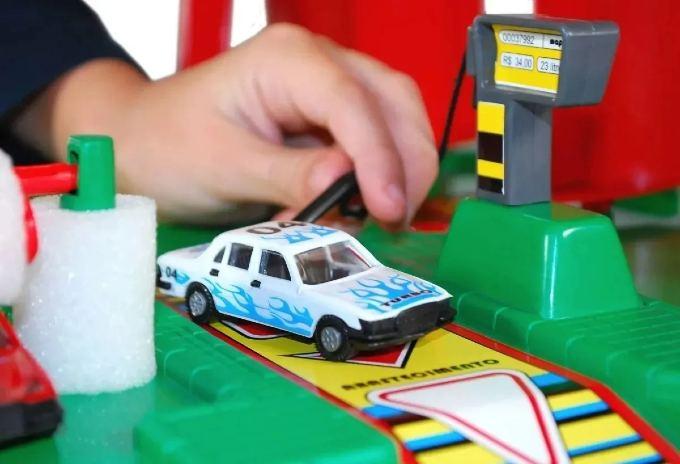 Auto Posto De Brinquedo Supor Parking Maptoy