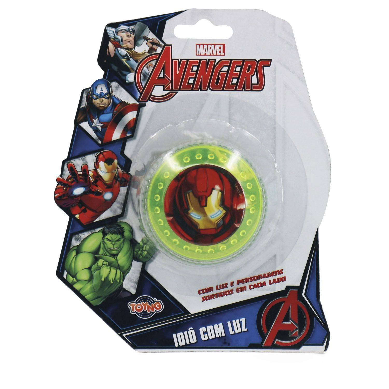 Avengers Io Io Com Luz Toyng - Sortidos