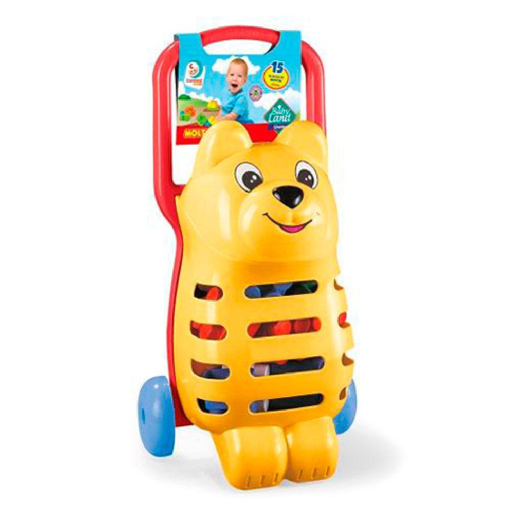 Babi Land Ursinho Com 15 Blocos Cardoso Toys