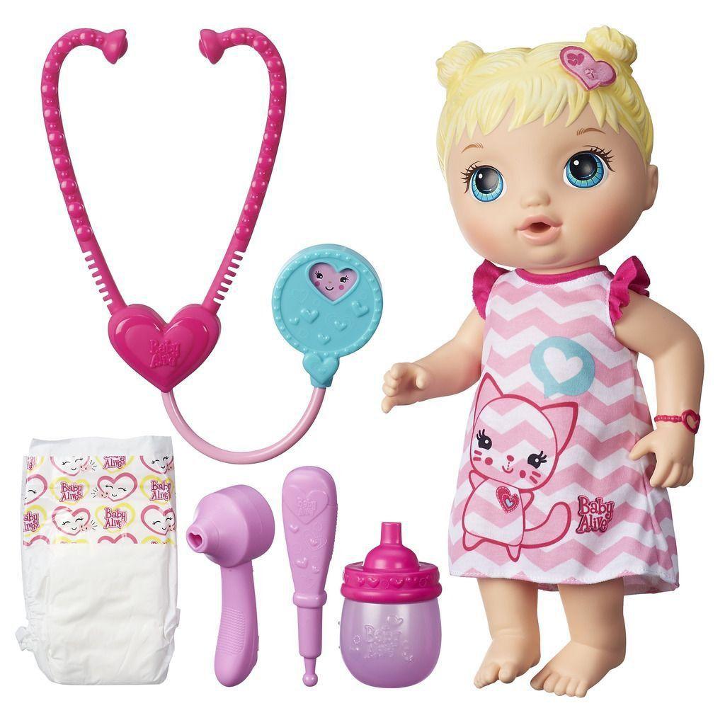 Baby Alive Cuida De Mim Loira Hasbro