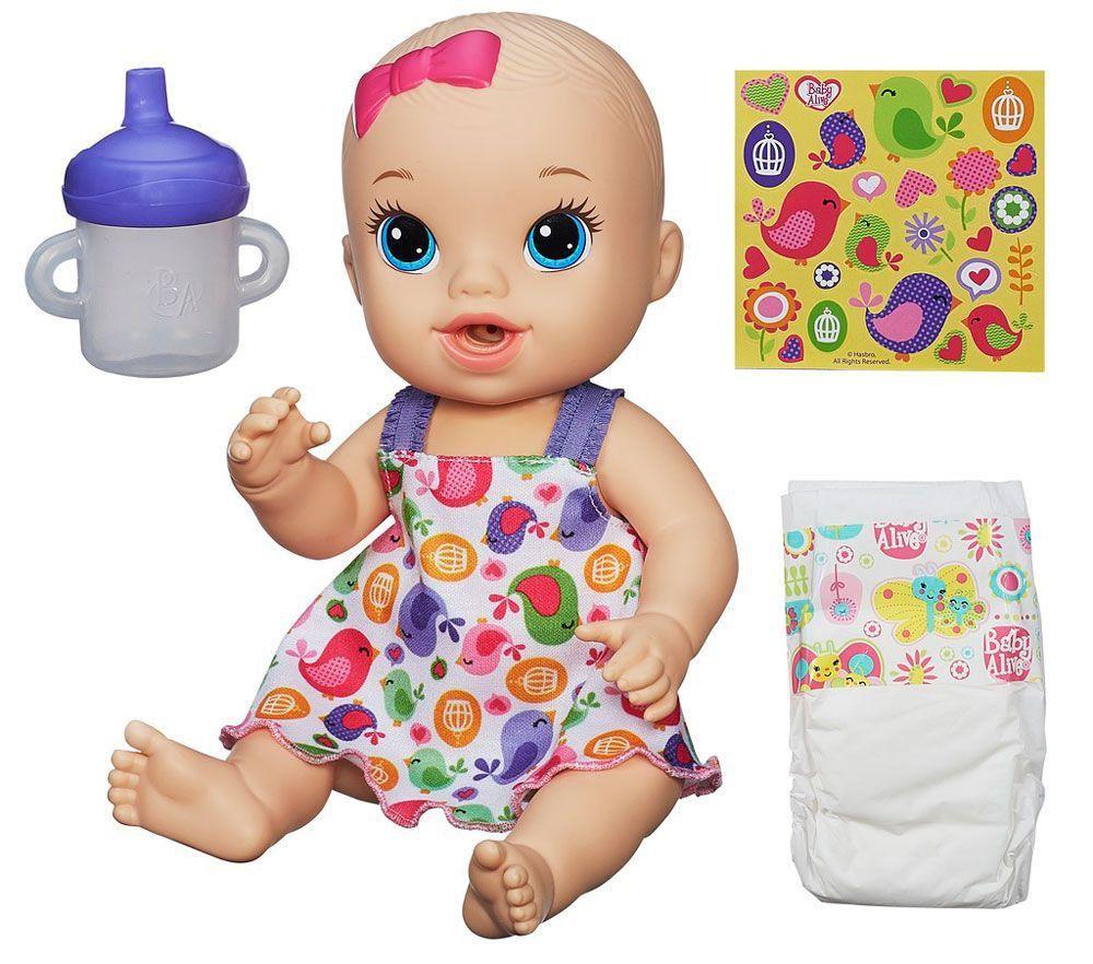 Baby Alive Hora Do Xixi Loira Hasbro