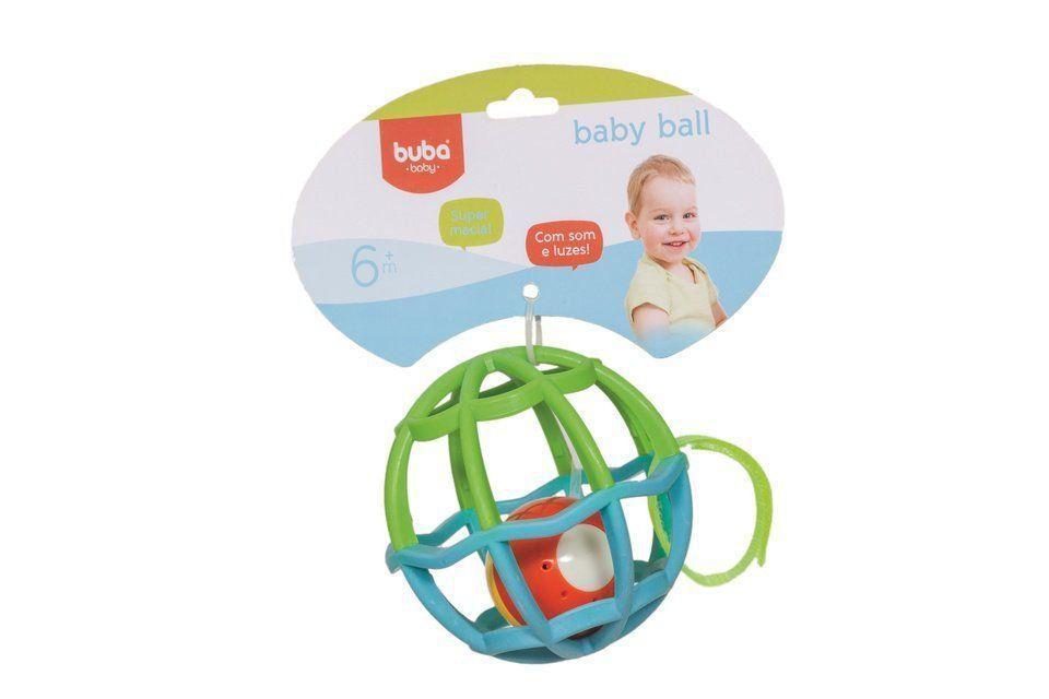 Baby Ball Luz E Som Buba